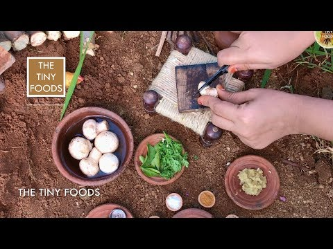 Mushroom Pepper Fry | EP14 | The Tiny Foods
