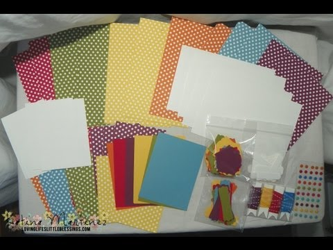 Summer Scrapbooking Pages - Project Life Kit
