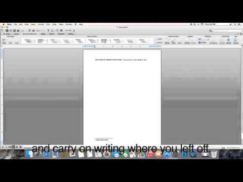 Endnotes and Footnotes Mac