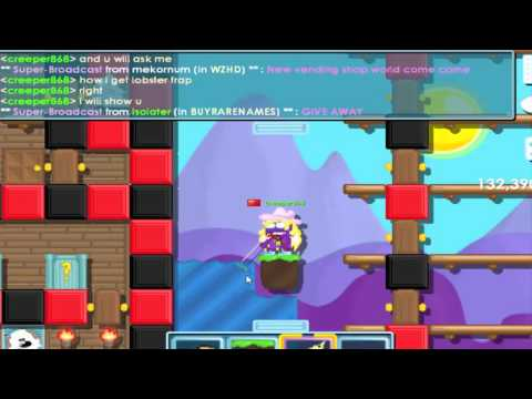 growtopia~ how to use lobster trap