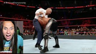 WWE Raw Universal Championship Fatal 4 Way