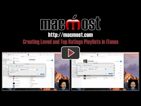Creating Loved and Top Ratings Playlists in iTunes (#1477)