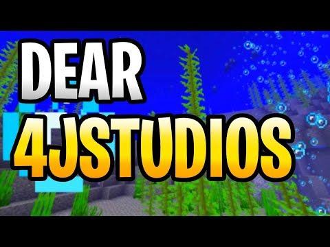 DEAR 4j, WHERE IS UPDATE AQUATIC!? MINECRAFT PS3, PS4, Xbox 360 & Wii U! FREE V BUCKS!
