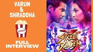 Varun Dhawan & Shraddha Kapoor's FUNNIEST FULL INTERVIEW | Streer Dancer 3D | RJ Sangy