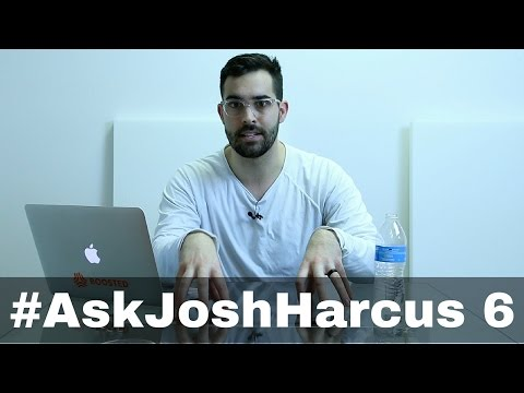 #AskJoshHarcus Episode 6: Personal branding, Facebook Page as Public Figure, and Company Retreats