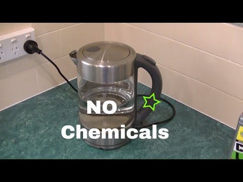 Easy Cleaning, Descale a Jug or Kettle