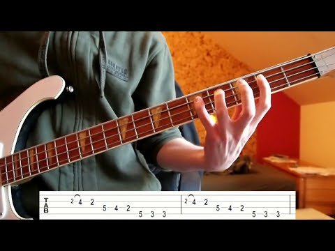 Daft Punk - Around the World (Bass Tutorial with TABS)