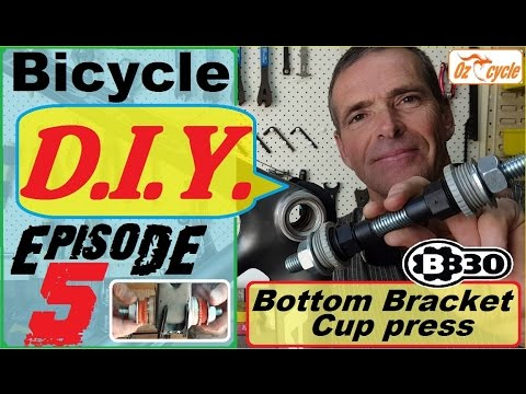 BB30 cup/bearing press tool - make it yourself
