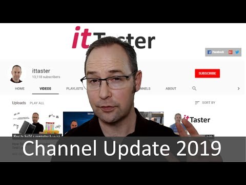 Ittaster Channel Update 2019