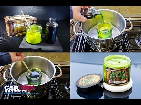 Green with Envy: Testing the Dodo Juice Car Wax Homebrew Kit