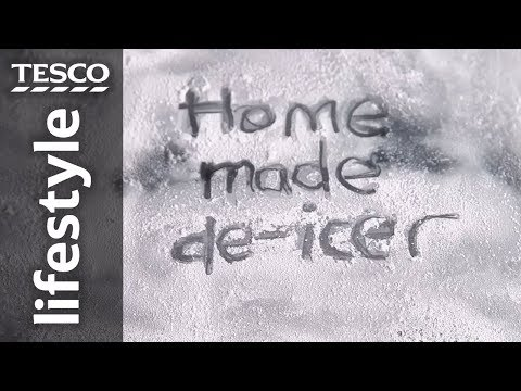 How to make a de-icer spray for your car | Tesco