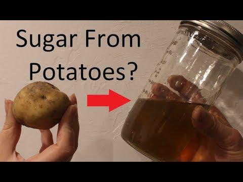 Making Potato Syrup