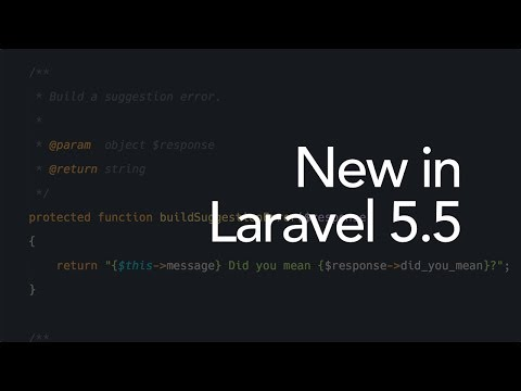 New in Laravel 5.5: The Responsable interface (11/16)
