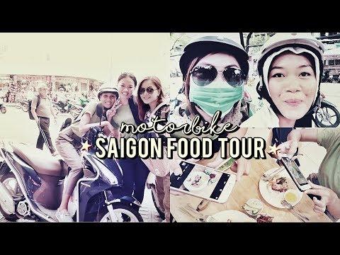 🇻🇳{saigon/ho chi minh} MOTORBIKE FOOD TOUR 🏍 episode#5 ⚫ TheWickeRmoss