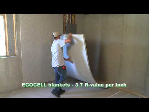 ECOCELL batt and blanket insulation- Homeowners