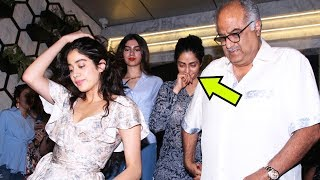 Drunk Sridevi Kapoor Snapped Post Birthday PartyWith Family