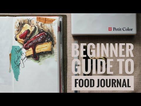 Beginner's Guide to Food Journal | Lollalane | Traveler's Notebook