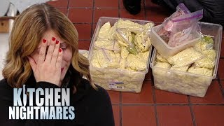 Incompetent Owner Starts To Cry After Seeing What's In Her Fridge | Kitchen Nightmares