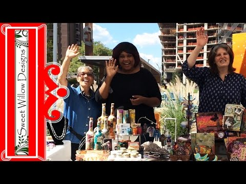 How to Have a Successful Craft Show Video Diary #COARTCO