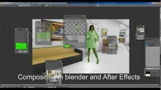 Green Screen Removal & LightWrapp with Blender - PakVim net