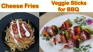 Veggie Stick for BBQ & Cheese Fries by Hamida Dehlvi