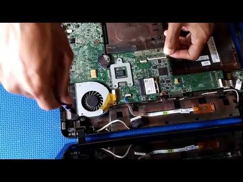 How To Replace Thermal Paste on Toshiba Satellite L730