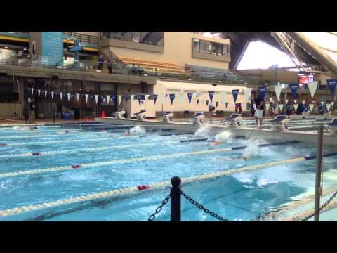 Calgary Masters Swim Meet 2015 Lisa Brown 50 Fly