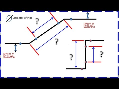 Pipefitter How to Find Travel using Elevation, 1.414 for 45, 90 Degrees Ellbow and Angle