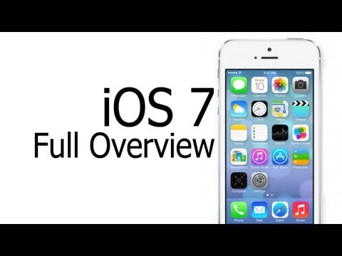 iOS 7 First Look and First Impressions (Public Release)