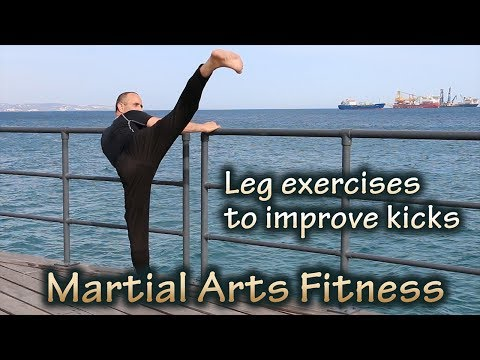 Leg exercises to improve kicks
