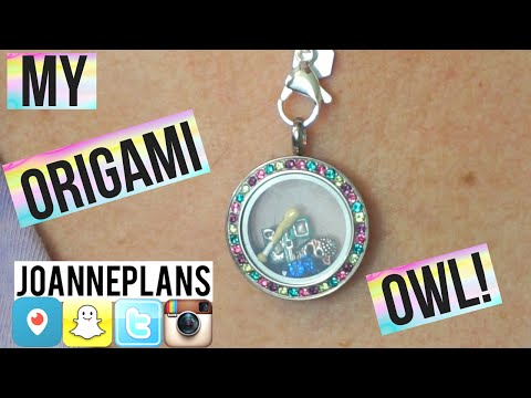 Origami Owl Necklace Assembly