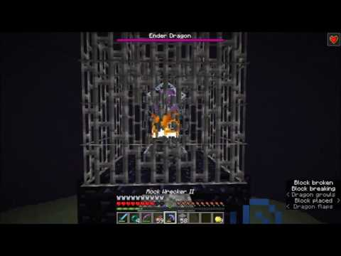 Beating the Ender Dragon! (1.11 UHC Survival)