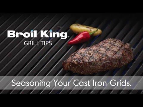 Cast Iron Grid Seasoning ( Καρύκευση και φροντίδα μαντεμένιας σχάρας)