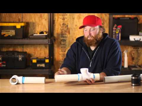 How to Plumb a Tee Into an Installed PVC Pipe : Plumbing Plans & Problems