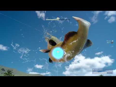 FINAL FANTASY XV - Angler's Nightmare - Fishing The Devil Of The Cygillian