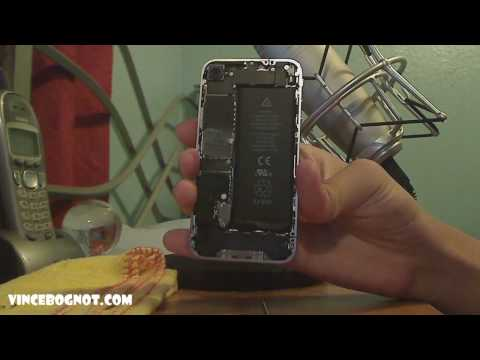 How to Replace the Back Cover of the iPhone 4 / iPhone 4S