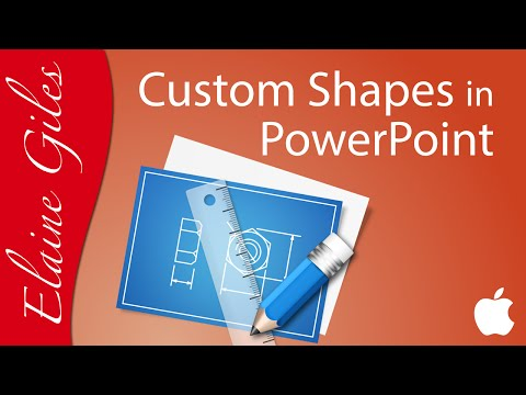 Custom Shapes with Merge Shapes in PowerPoint 2016 for Mac Tutorial