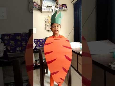 Carrot fancy dress