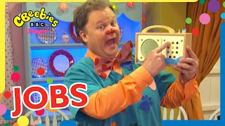 Learn about Jobs with Mr Tumble   CBeebies
