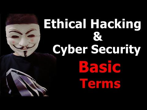 Ethical Hacking Basic Terms | Ethical Hacking-Terminologies in Hindi