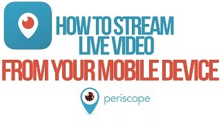How To Stream Live Video From Your Iphone Using Periscope Twitter S P