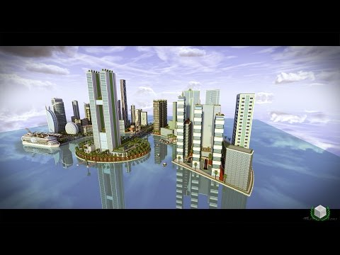 Minecraft Timelapse - Pearl City