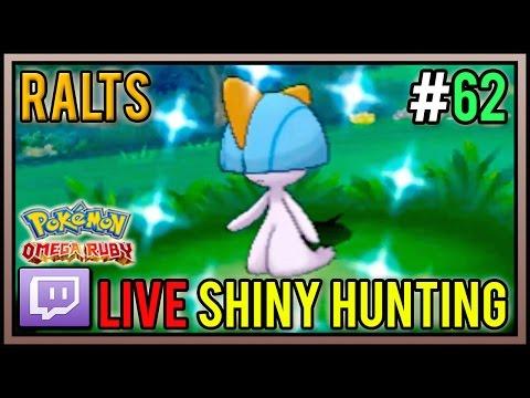[Live] Shiny Ralts at 43 DexNav Encounters | Live Shiny Hunt #62 | Pokemon Omega Ruby