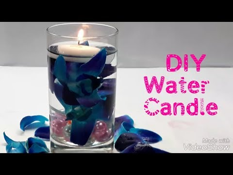 DIY Floating Candle Centrepiece/ How to Make water candles / Vase centrepiece/ Simple and Easy.