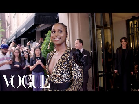 Issa Rae Gets Ready for Her Coming to America-Meets-Catholicism Moment at the Met Gala | Vogue