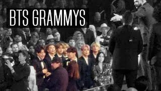Download BTS REACTIONS AT GRAMMYS 2019   Jungkook crying & boys dancing   VLOG/FANCAM Video