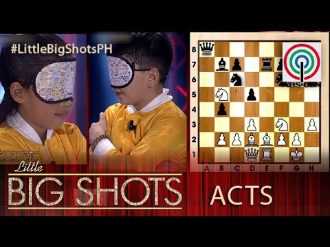 Little Big Shots Philippines: Relghie and Ruelle | Chess Kids