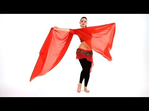 Envelope & Butterfly Move with Veil | Belly Dance