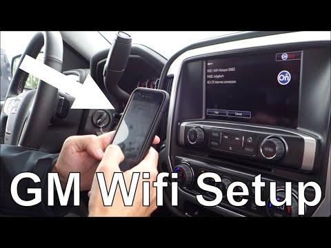 2016+ GM Cars Wifi Hotspot Setup