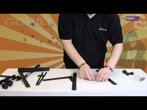 How to Set Up a Gorilla GLS 01 Laptop Stand